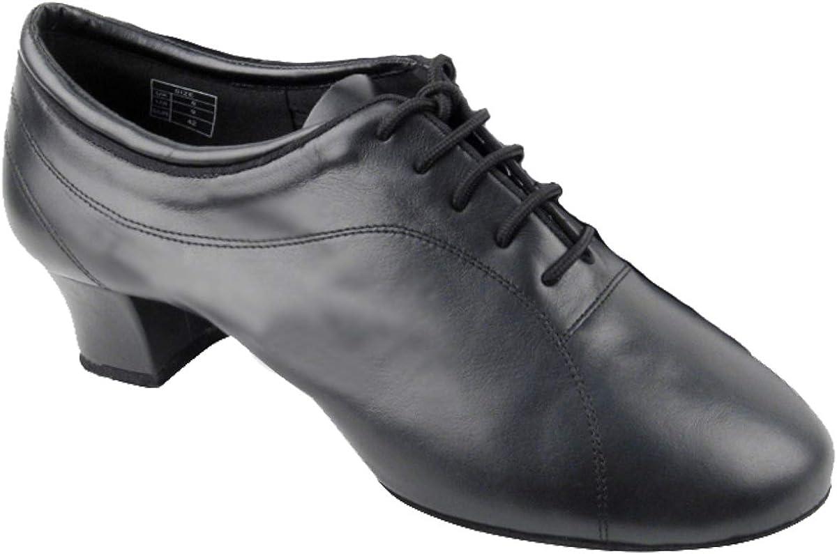 Mens Ballroom Dance Shoes Tango Wedding Salsa Latin Dance Shoes CD9316EB Bundle of 5 Very Fine 1.5