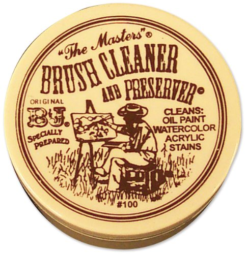 The Masters 75ml Brush Cleaner and Preserver