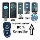 868 MHz 0437549 Mando a distancia H/örmann 4 comandos HS4