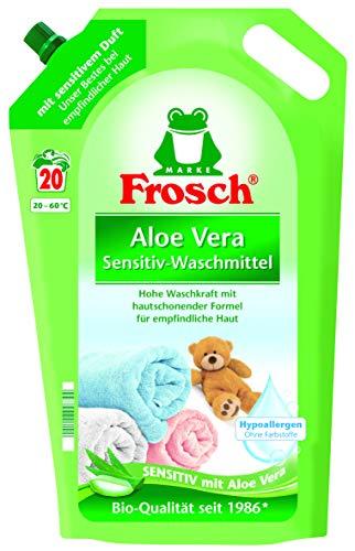 test Frosch Aloe Vera Waschmittel 20WL, 1,8 Liter. Deutschland