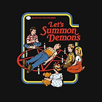 Lets Summon Demons Womens Fitted Tee