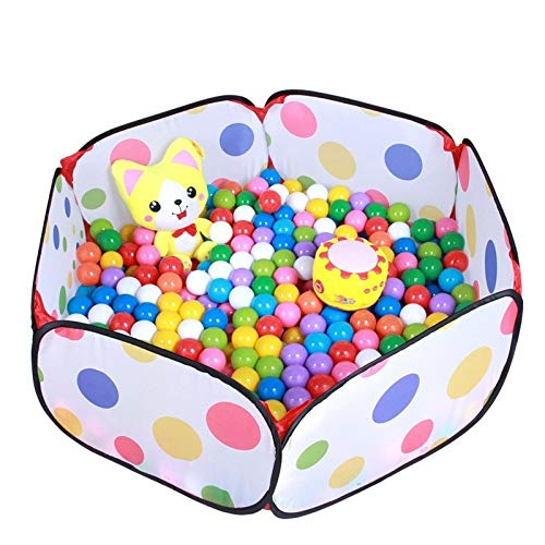 Amazing Deal Baby playpen Folding Playpen for Children, Six Sided Safety Point Fencing Game House Us...