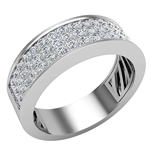 Glitz Design Mujer Hombre Niños Unisex oro 14 quilates (585) oro blanco 14 quilates (585) Round Brilliant Diamond