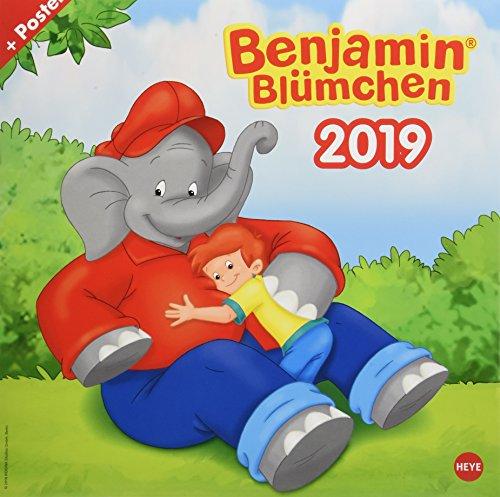 Benjamin Blümchen Broschurkalender - Kalender 2019
