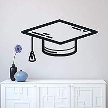 Etiqueta De La Pared, Diseño De Etiqueta De La Pared Del Sombrero Académico Cuadrado, Decorar La Decoración De La Habitaci...