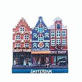 3D-Kühlschrankmagnet Amsterdam Holland Niederlande Reise Souvenir Geschenk Heim Küche Kühlschrank Dekoration magnetische Aufkleber Craft Collection