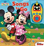 Disney - Mickey Mouse and Minnie Mouse Digital Music Player Sound Book - Songs to Go - Play-a-Song - PI Kids