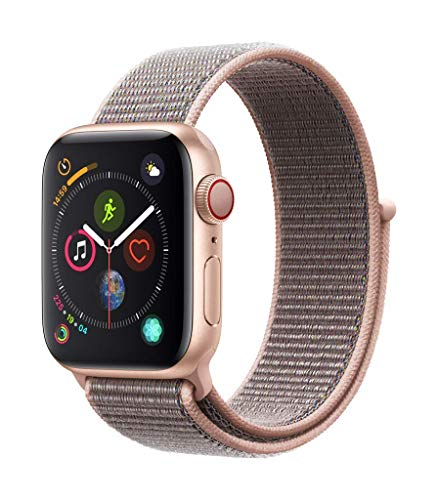 Apple Watch Seires 4 40mm (GPS + Celular) - Caja De Aluminio En Oro / Pomelo Correa Loop Deportiva (Reacondicionado)