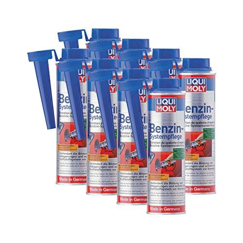 8 x Additif Liqui Moly 5108 Essence de Système de soins de carburant 300 ml