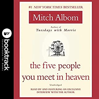 The Five People You Meet in Heaven audiobook cover art