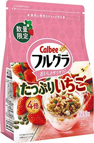 カルビー フルグラ たっぷりいちご 600g ×6袋