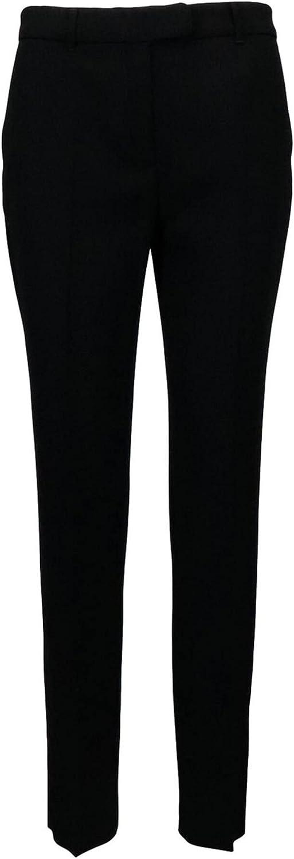 MaxMara Womens Black Skinny Wear to Work Pants Size 10