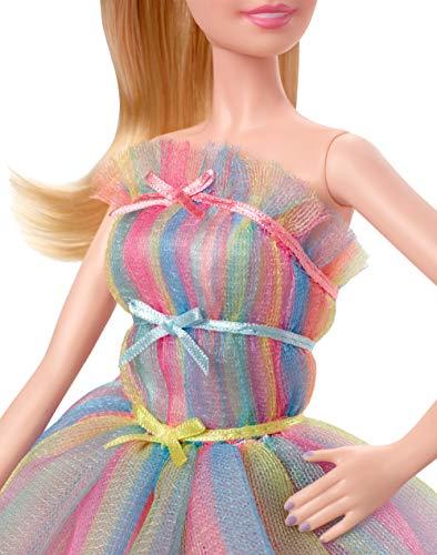 Barbie Collector, muñeca de colección de Cumpleaños Birthday Wishes (Mattel (GHT42)