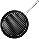 TECHEF - Onyx Collection, 12-Inch Grill Pan, coated with New Teflon Platinum Non-Stick Coating (PFOA...