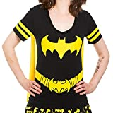 Dc Comics Batman Costume Licensed Graphic Juniors T-shirt w/Cape (XX-Large)