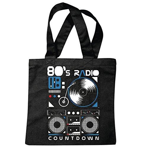 Bolsillo Bolso Bolsa La música es vida giratoria de DJ