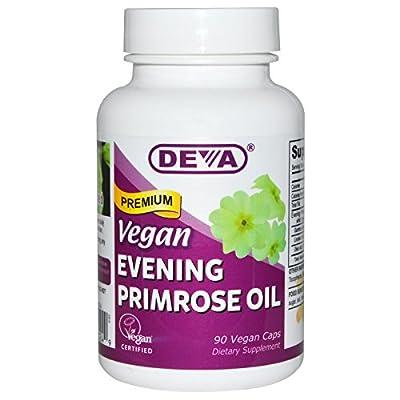 Deva Nutrition LLC - Vegan Evening Primrose Oil 90 vcaps
