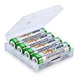OAproda 単3形 充電式ニッケル水素電池 充電池 4本 AA単3電池 4個