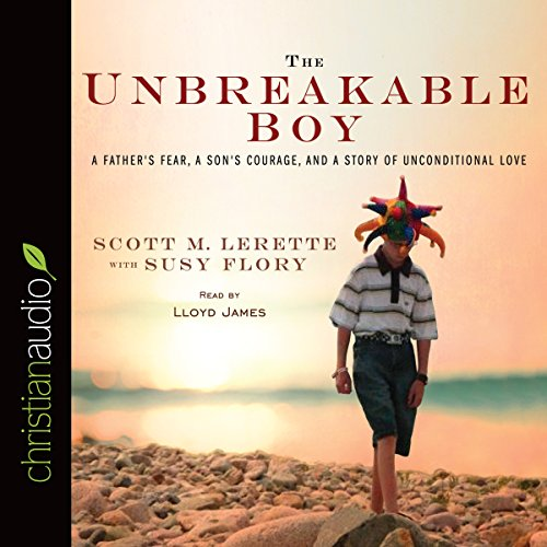 The Unbreakable Boy audiobook cover art