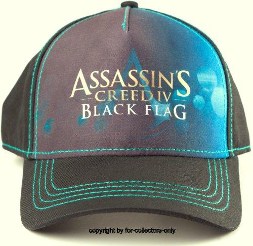 Assassin's Creed IV Cap Black Flag Assassins Creed 4 Mütze Schirmmütze Baseball Cap