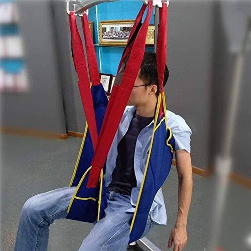 51Xitm9zoeL - Grúa de paciente portátil de transferencia de honda de la correa, en movimiento suave Assist alzamiento de la marcha del arnés del cinturón ajustado Heights de dispositivos, for la tercera edad, disca