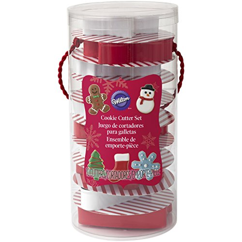 Wilton 10-Piece Christmas Cookie Cutter Set