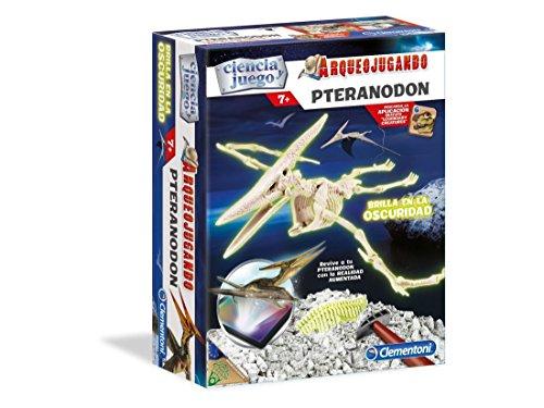 Clementoni- Arqueojugando Pteranodon, Multicolor, Miscelanea (55153.8)