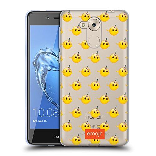 Head Case Designs Licenciado Oficialmente Emoji Patrón de Dab Sé un Unicornio Carcasa de Gel de Silicona Compatible con Huawei Honor 6C Pro / V9 Play