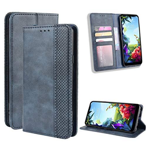 Gift_Source Realme X50 Pro 5G Hülle, [Blau] Ledertasche Handytasche PU Leder Brieftasche Hülle Flip Hülle Schutzhülle Geldbörse Handyhülle mit Standfunktion und Kartenfach für Realme X50 Pro 5G (6.44