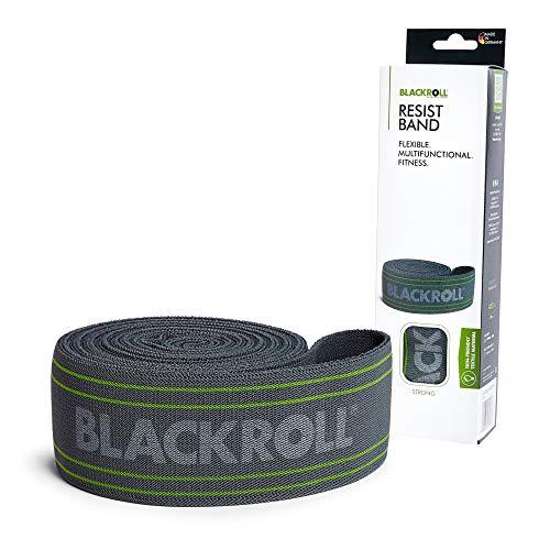 BLACKROLL® RESIST BAND - grey - Fitnessband. Trainingsband für das moderne Athletiktrainig mit starker Dehnbarkeit in grau