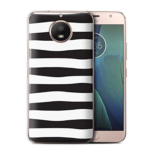 Stuff4® Hülle/Case für Motorola Moto G5S / Zebra Reifen Muster/Skandinavische Mode Kollektion