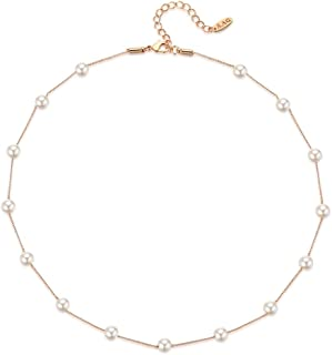 Best dainty beaded necklace Reviews