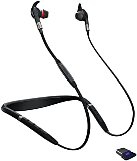 Jabra Evolve 75e MS Wireless Earbuds with Link 370 USB Adapter