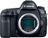 Canon EOS 5D Mark IV 30.4 MP Full Frame CMOS DSLR Camera (Body) Wi-Fi NFC 4K Video (1483C002) (Renewed)