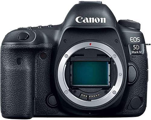 Canon EOS 5D Mark IV 30.4 MP Full Frame CMOS DSLR Camera (Body) Wi-Fi NFC 4K Video (1483C002) (Renewed)