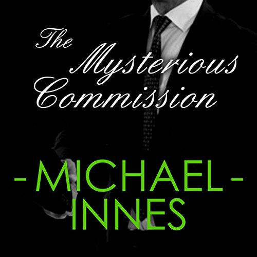The Mysterious Commission: An Insepctor Appleby Mystery cover art