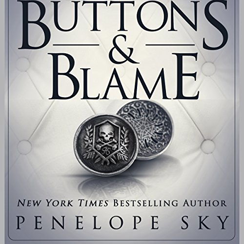 Buttons and Blame audiobook cover art