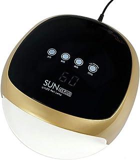 ZHTY Secador de uñas Inteligente automático sin Dolor 52W máquina de fototerapia de uñas de Secado rápido lámpara led secador de lámpara de uñas para Hacer esmaltes de uñas horneado a Mano