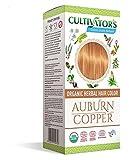 Cultivator's Organic Herbal Hair Colour - Auburn Copper 100g