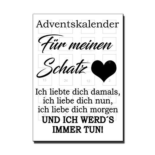 Lieblingsmensch Adventskalender - Für deine Liebsten (Schatz)
