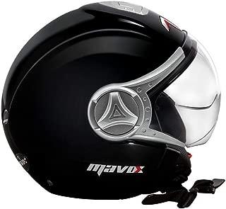MAVOX OX10 560 Open Face Helmet (Black, 560 mm)
