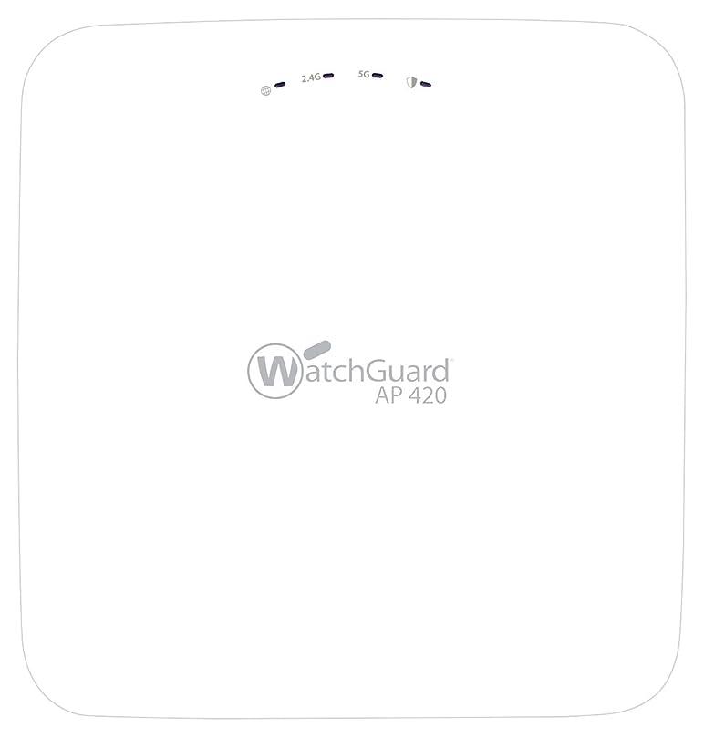 悩む裁判官衛星WatchGuard AP420 - Wireless access point - with 3 years Basic Wi-Fi - GigE, 802.11ac Wave 2 - Wi-Fi - Dual Band - WatchGuard Trade-Up Program