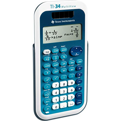 Texas Instruments TI-34 Multiview schoolrekenmachine