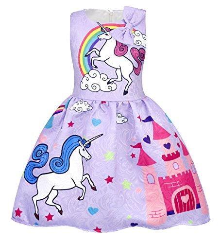 Disfraz Infantil Unicornio Marca AmzBarley
