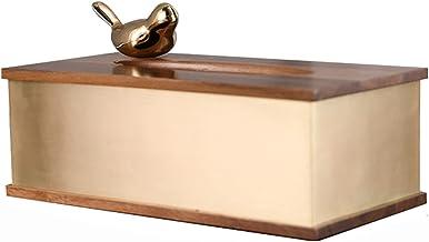 Deksel van tissuedoos Rechthoekige tissuebox is geschikt for woonkamer salontafel studeerkamer en kantoor Tissue Doos Houder