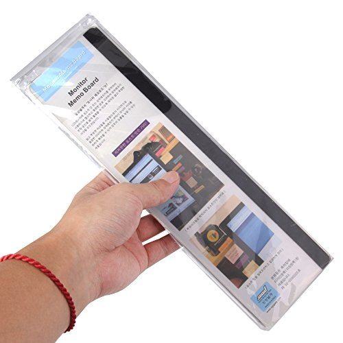 Sansheng Multifunctional Acrylic Transparent Computer Display, Monitor Message Board Side Panel/Notepad/Message Board…