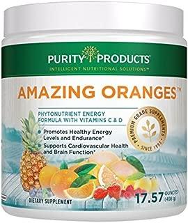 Amazing Oranges Powder 30 day supply | Power Packed w/Vitamin C, Vitamin D, Calcium, Magnesium, Potassium, Fiber, Electrolytes & Bio Flavonoids from Purity Products