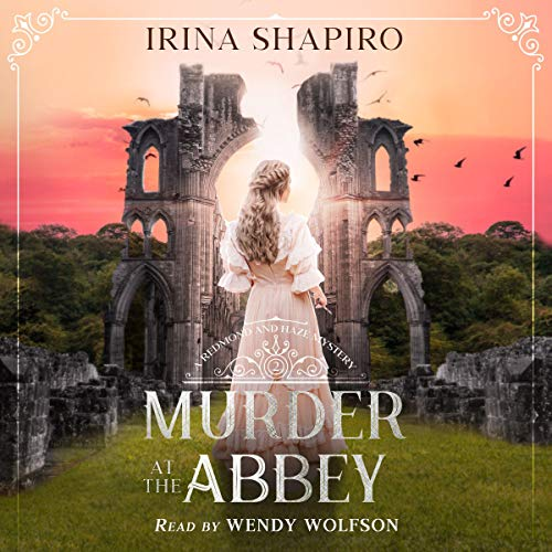 Murder at the Abbey cover art