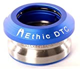 Ethic DTC Basic Full Integrated Stunt-Scooter Headset+Fantic26 Sticker (Blau) -
