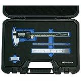Travers TRA-01 4 Pc Measuring Set w/Mitutoyo 500-196-30 Caliper in Fitted Case